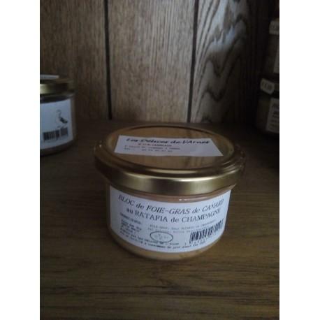 Bloc de Foie-gras au ratafia