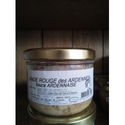 Dinde Rouge Sauce Ardennaise