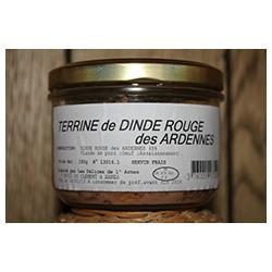 Terrine de dinde rouge des Ardennes